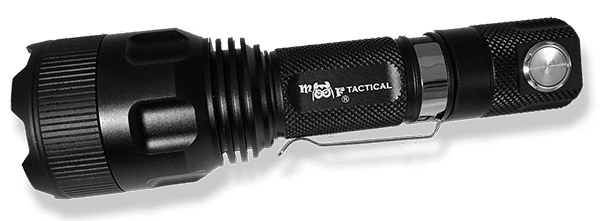 MF Tactical Delta-5 1300 Lm LED Rechargeable Flashlight 5-Mode with Magnetic Base