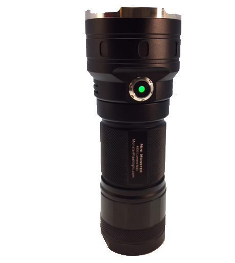 MF Tactical Mini Monster 4800 Lm LED USB Rechargeable Flashlight