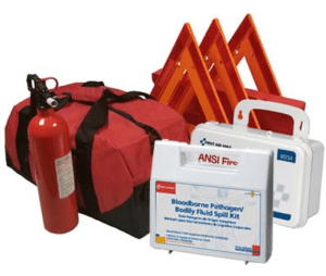 NEMT DOT OSHA Compliant All-in-One Kit,Survival Supply