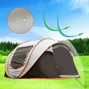Outdoor Waterproof 5-8 Person Family Instant Pop Up Tent For Camping Hiking