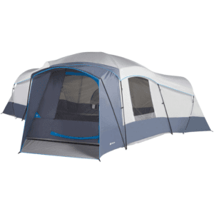 Ozark Trail 16-Person Cabin Tent with 2 Removable Room Dividers, Multicolor