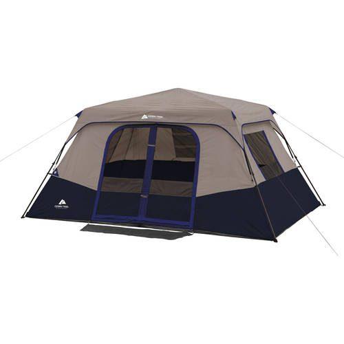 Ozark Trail 8 Person Instant Cabin Tent, Blue