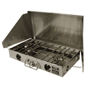 "Partner Steel 2 Burner Cook Partner Stove | Off-Road And Camping Stove, 18"" / Right / No - Overlanding Misc."