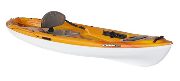 Pelican - Prime 100 Pelican Sit-on-top Recreational Kayak, Size: 10', Orange