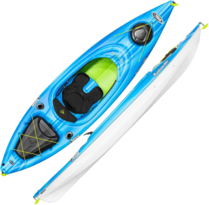 Pelican Mustang 100X Kayak, Blue