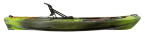 "Perception Pescador Pro 100 10' 6"" Fishing Kayak, Red Tiger Camo"