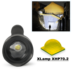 PowerFlash 90000 LUMENS XHP70.2 Most Powerful Flashlight USB Zoom Led Torch