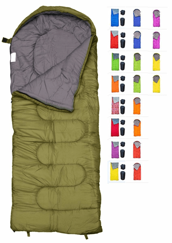 revalcamp-sleeping-bag-for-cold-weather-8211-4-season-envelope-shape-bags-by-great-for-kids-teens-amp-adults-warm-and-lightweight-8211-perfect-for-hiking