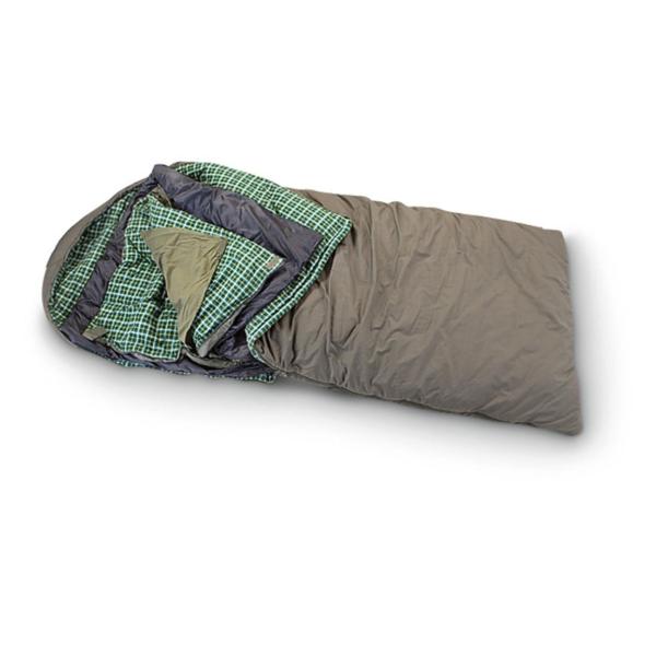 "Rustic Ridge Elk Hunter -35 degree Sleeping Bag - Black 38"" x 11.5"" x 11.5"" by Sportsman's Warehouse"