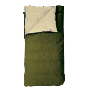 Slumberjack Country Squire 12 Ounce Cotton Duck Insulated Sleeping Bag, Green