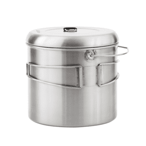 Solo Stove Pot 4000: Stainless Steel Companion Pot Campfire. Great for Backpacking, Camping, Bushcraft, Survival