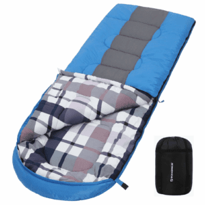 SONGMICS Wider Sleeping Bag for Camping, Washable