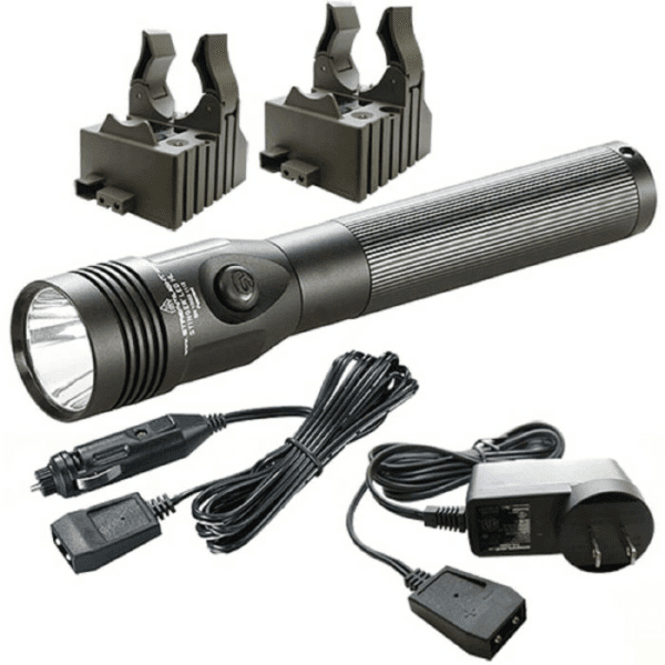 Streamlight 75430 Stinger LED HL with AC & DC Chargers, 2 Holders