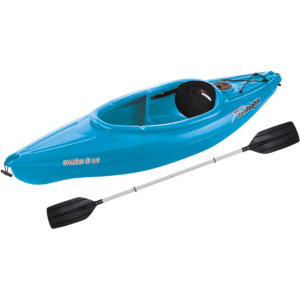 Sun Dolphin Aruba 8' SS Sit-In Kayak, Paddle Included, Blue