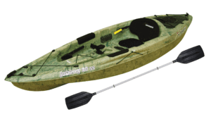 Sun Dolphin Journey 10 Sit-on Angler Kayak Grass, Paddle Included, Multicolor