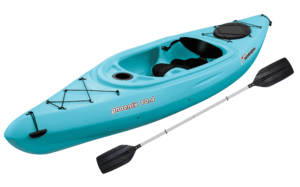 Sun Dolphin Phoenix 10.4 Sit-In Kayak Sea Blue, Paddle Included