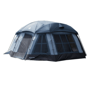 Tahoe Gear Ozark 16-Person 3-Season Large Family Cabin Tent, Blue