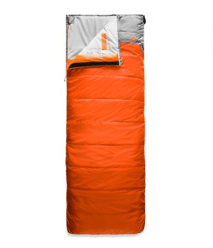 The North Face Dolomite 40 Sleeping Bag Monarch Orange/Zinc Grey Regular - Right Zip