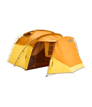 The North Face Wawona 6 Tent: 6-Person 3-Season Golden Oak/Saffron Yellow, One Size