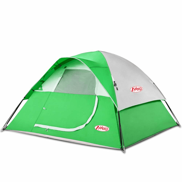 TOMOUNT 3 or 5 Person Tent - Professional Waterproof & Windproof & Pest Proof Camping Tent, Solid & Portable with Carry Bag, Easy & Quick Setup,