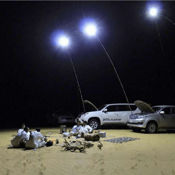 uboway telescopic-fishing-rod-lamp-with-ir-remote-for-camping
