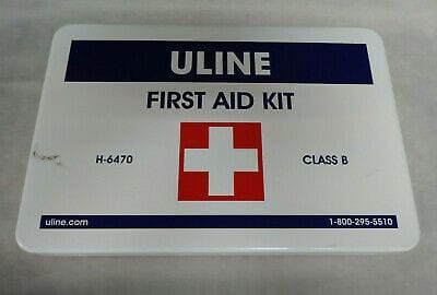 Uline First Aid Kit - 25 Person - H-1293