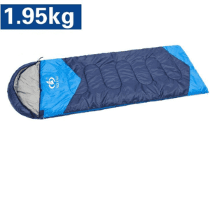 Water Repellent Outdoor Camping Sleeping Bag (1.95kg Cyan: Hollow Cotton), Adult Unisex, Size: Regular, Green