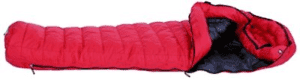 Western Mountaineering Apache Gore WindStopper Sleeping Bag: 15 Degree Down Crimson, 5ft 6in/Left Zip