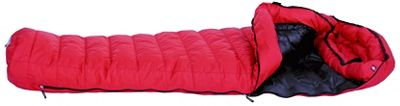 Western Mountaineering Apache Gore WindStopper Sleeping Bag: 15 Degree Down Crimson, 5ft 6in/Left Zip