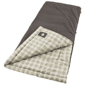 Woods Heritage Cotton Flannel Camping Sleeping Bag: 5 Degree Cold Weather