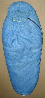 Woods Logan Lightweight Mummy Camping Sleeping Bag: 10 Degree Cold Weather